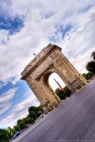 Triumphal Arch HDR by ScorpionEntity