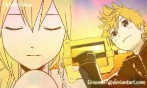Namine and Roxas October Skies by Graces87