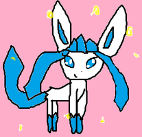 Glaceon Shiny by Espy4ever