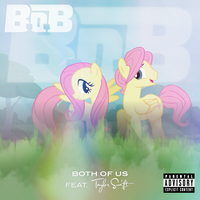 B.o.B / Taylor Swift - Both of Us (Fluttershy) 2.0 by AdrianImpalaMata