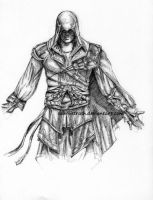 Ezio Auditore of Assassin's Creed by Sabriiistrash