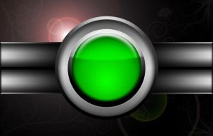 Red Button - Variation, Green by Varcolacu