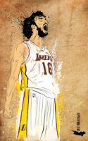 Pau Gasol by artwarriors
