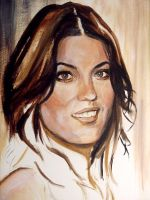 Debra Morgan. WIP by Martinkumnick