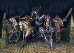The Four Horsemen of the Apocalypse 2016 by TheDragonofDoom