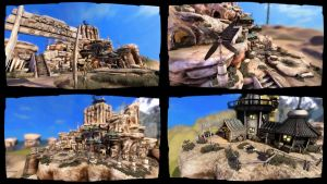 3D Scene Cosmo Canyon by DonDev