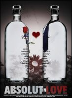Absolut Vodka - In Love by kawa4