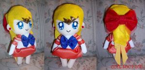 Shiny Sailor Venus Plushie by sarahmariem