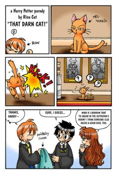 HP: That darn cat by rinacat