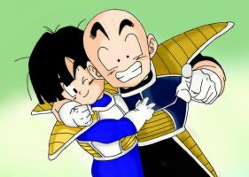 Gohan and Krillin by SonGohanZ