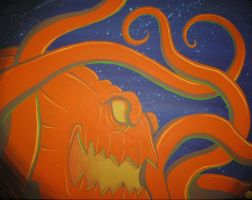 Glow of the Oct-O-Lantern by grimcinder