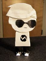 Origami Dave Strider by OrigamiPhoenix