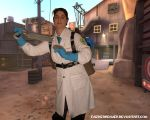 "Medic ""cosplay"" by Faeriedreamer"