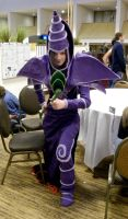 AD 2011 - Dark Magician by The-Emerald-Otter