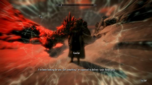 Skyrim WTF 35: Time-Trancending Courier?! by CelticDragon0