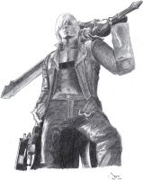 Dante - Devil May Cry 3 by evilpillowsofdoom