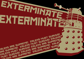 EXTERMINATE by egorger