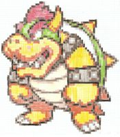 Big bad Bowser by artdragon1