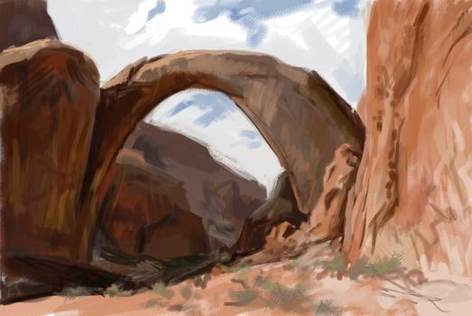 Rainbow Bridge photostudy by AnastasiaMorning