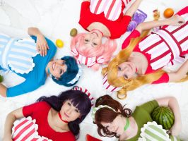 Katsucon 2012: Fruit Sailors by melvinopolis