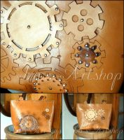 Casual steampunk tote bag by izasartshop