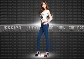 SNSD JESSICA WALLPAPER by ExoticGeneration21