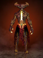 Shinnok (Corrupted) by romero1718