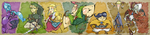 Skyward Sword Bookmark by BrendanCorris