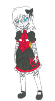 TRADITIONAL: Little Ally (Full body) by InvaderIka