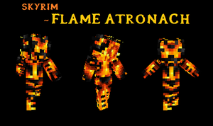 Minecraft-Flame Atronach by MC-Dread
