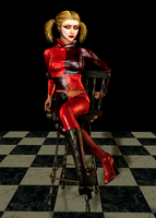 Harley Quinn Indisposed by Shallon4000