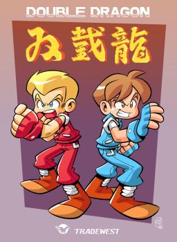 Double Dragon by BezerroBizarro