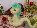 Baby green dragon by sheeps-wing