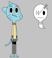 Gumball and Carrie by Alifabro70