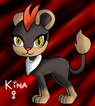 Kina the litleo by darklugia99