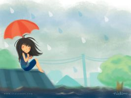 Rain, Rain, Go Away by Rinian
