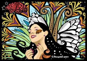 .::Butterfly Kiss::. by mickeykumar
