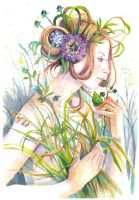 The Language of flowers by Vasylissa