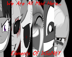 Elements Of Insanity Wallpaper by SandPerv