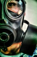 gas mask by AlexCarata