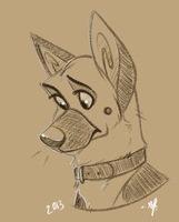 Gshep by RedSunAtDawn