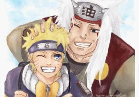 PC: Photo With Jiraiya. by Ragginess
