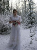 Bride With Flowers IV by Eirian-stock