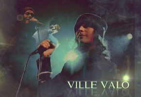 Ville Valo Banner No.2 by Maggiesgirl