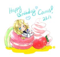 Happy Birthday Camus! by HakuNiji