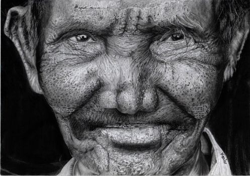 Old man by Tomiesio