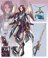 [AUCTION] Angelus Ardui [CLOSED] by PlatinaCreari
