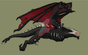 Rwby wyvern [dragon] by AngelInTheHeart