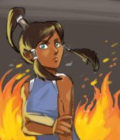 the legend of Korra by kevinsano
