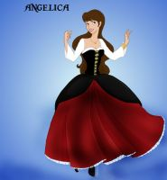 Disney Princess Angelica by Selinelle